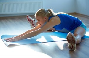 Stretching for back pain from an auto accident